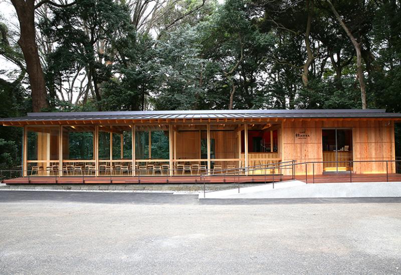 CAFE「杜のテラス」