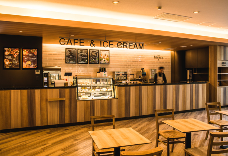 CAFE「杜のテラス2nd」