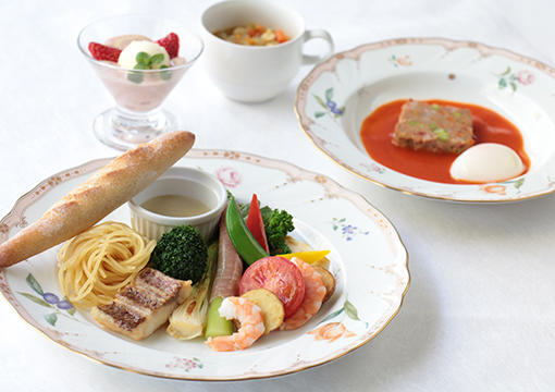 10種類の春野菜と魚介のバーニャカウダ.JPG