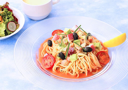 夏野菜とトマトの冷製パスタ2.jpg