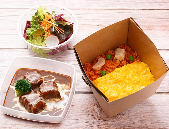 フォレストテラス明治神宮の【テイクアウトメニュー】と、明治記念館の【お届け弁当】のご案内 / Forest Terrace Meiji Jingu's Takeout Menu and Meiji Kinenkan's delivery lunch box