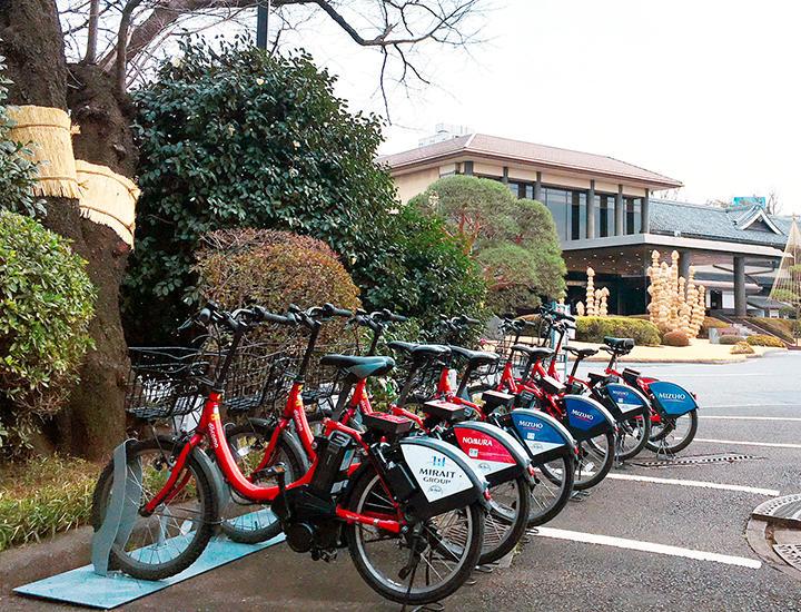 自転車シェアリングポート設置のおしらせ