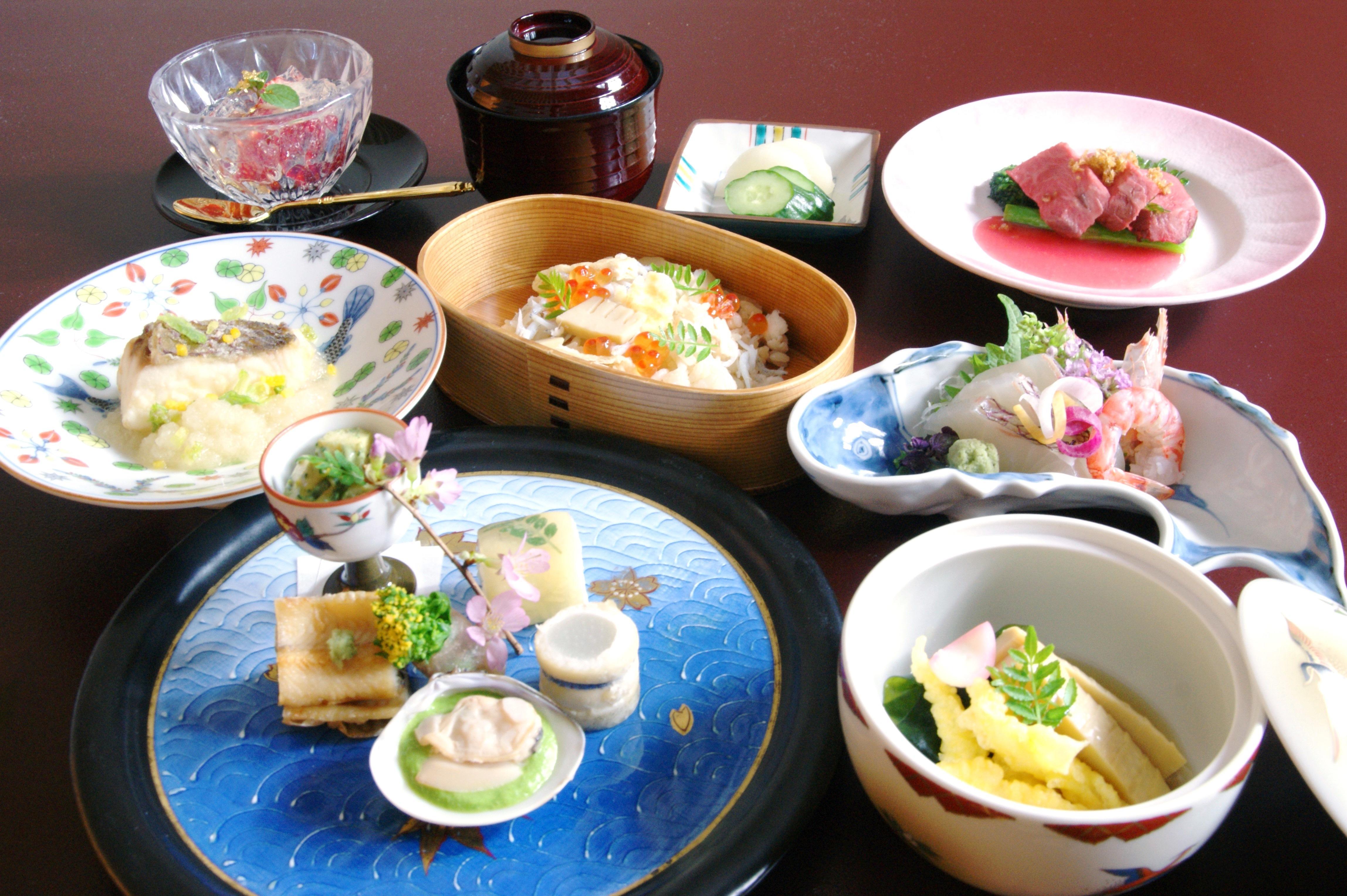 3/2より【平日限定】「真鯛と山菜御膳」