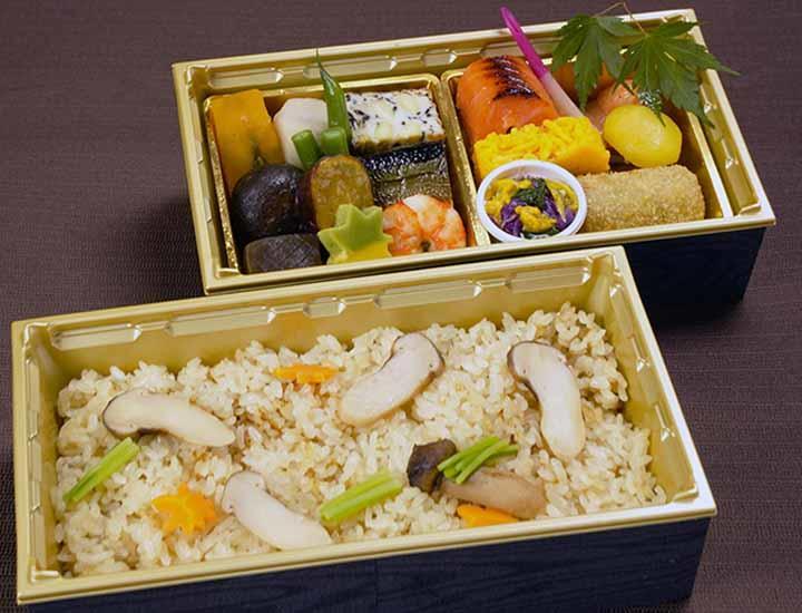 9/1より《テイクアウト限定》「松茸と秋の味覚弁当」 / Takeout