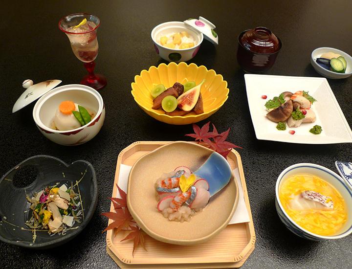 9/4より「秋の味覚御膳」