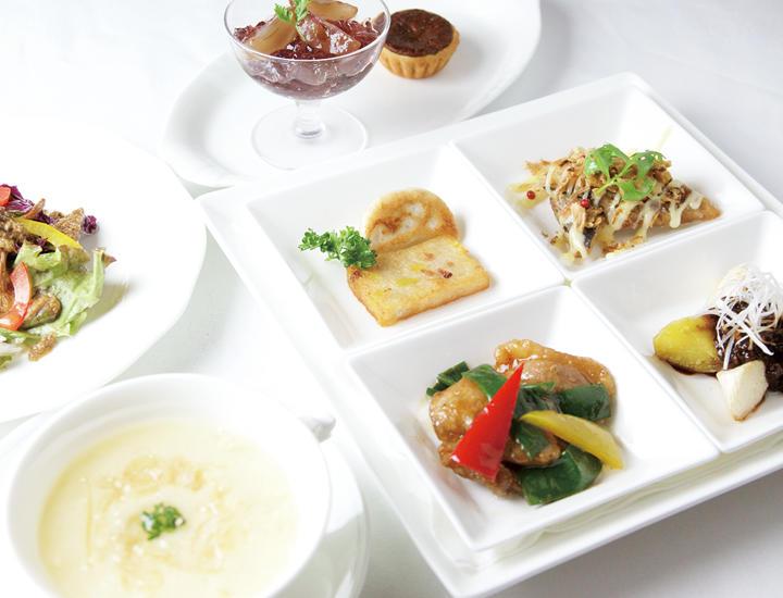 9/1より 季節のおすすめランチ「美々健菜」