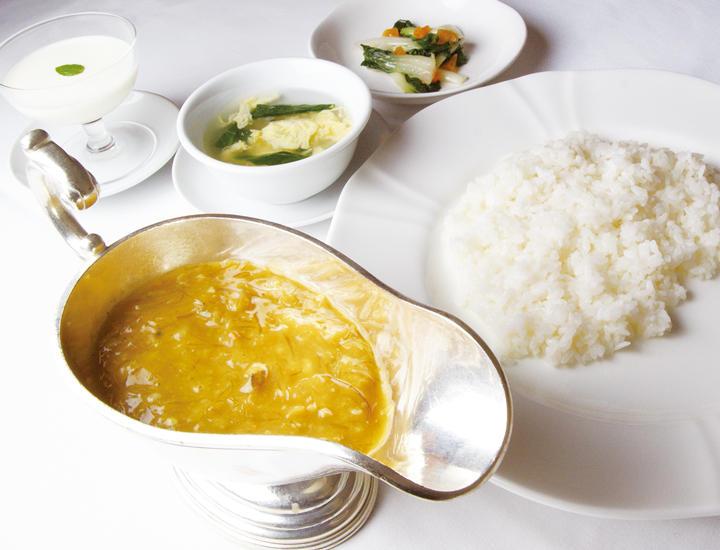 11/1より《贅沢堪能》「上海蟹の味噌入りふかひれライス-竹游林スタイル-」