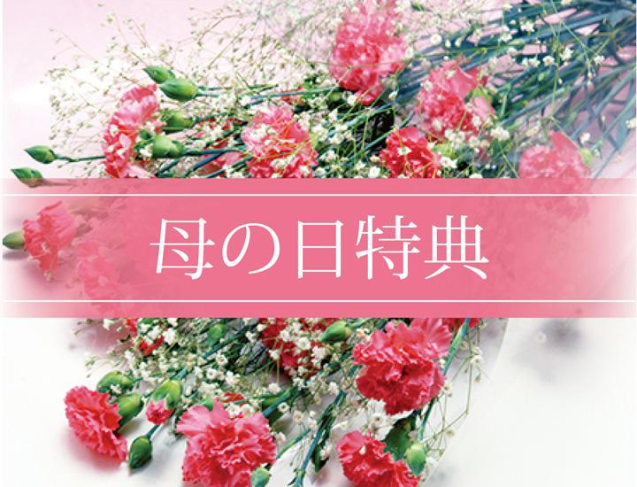 5/12・13限定「母の日ご予約特典」