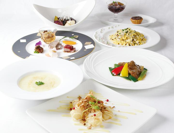 9/1より 秋のおすすめディナーコース「美々旬菜」